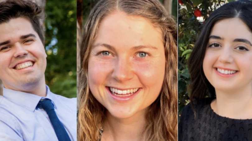 3 Fulbright recipients in 2020